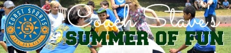 Coach Steve's Summer of Fun Camp