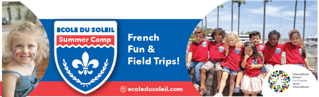 Ecole Du Soleil L.A. Camp Guide Summer Camp banner
